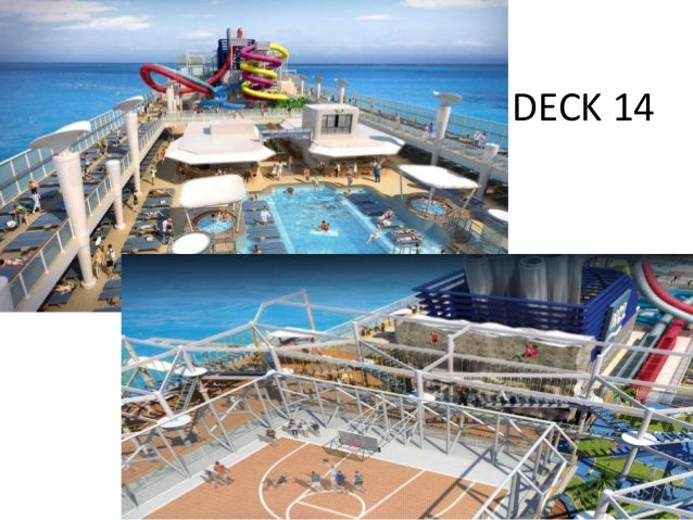 Deck 15 • TEEN's PLACE • VIDEO ARCADE • H20 • The HAVEN