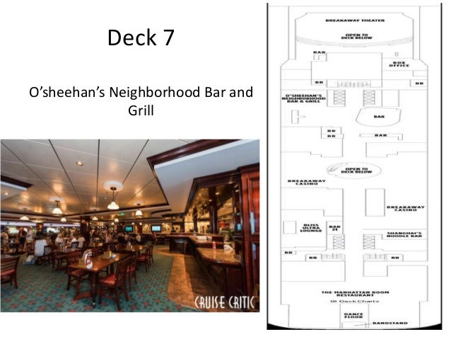 Deck 8 • WATER FRONT