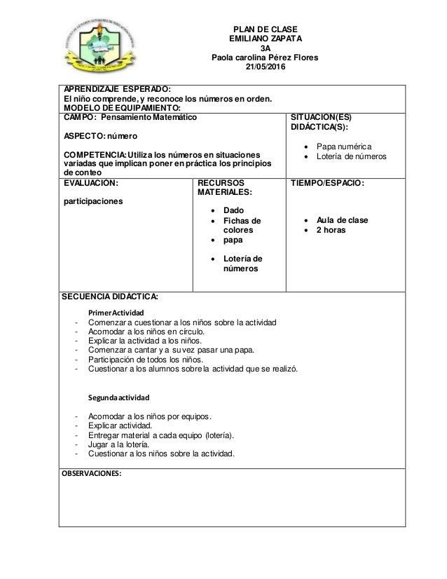 Dorable Plan De Lección Plantilla Preescolar Ornamento - Colección ...