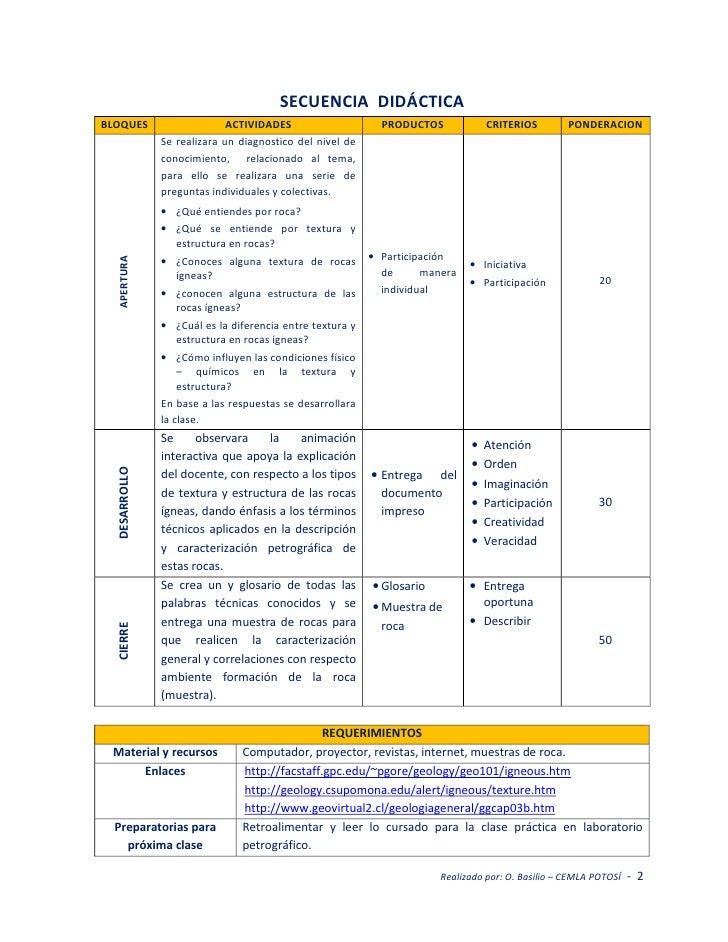 Plan de clases Slide 2