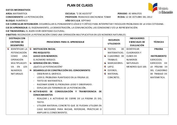 planes de clase - Engne.euforic.co