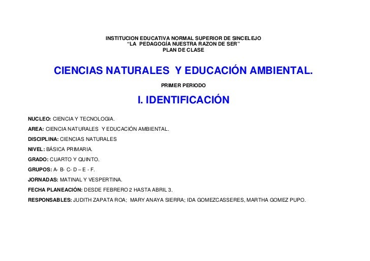 "INSTITUCION EDUCATIVA NORMAL SUPERIOR DE SINCELEJO                                      ""LA PEDAGOGÍA NUESTRA RAZON DE SER..."