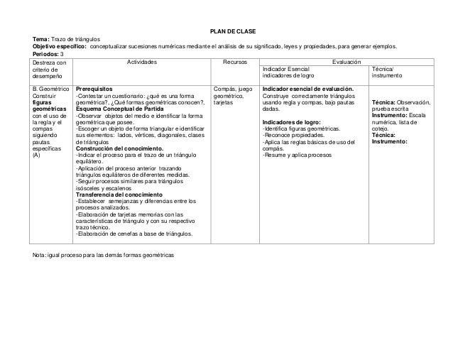 Plan de clases matematicas 8 9-10