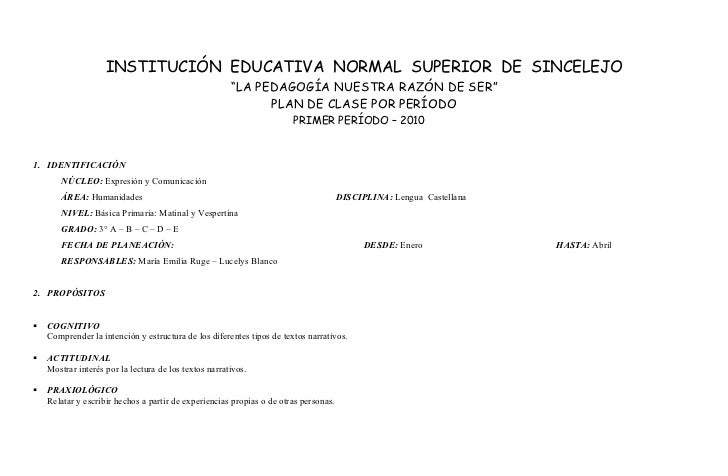 "INSTITUCIÓN EDUCATIVA NORMAL SUPERIOR DE SINCELEJO                                                        ""LA PEDAGOGÍA NU..."