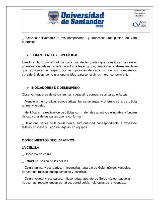 Plan De Clases Y Tics