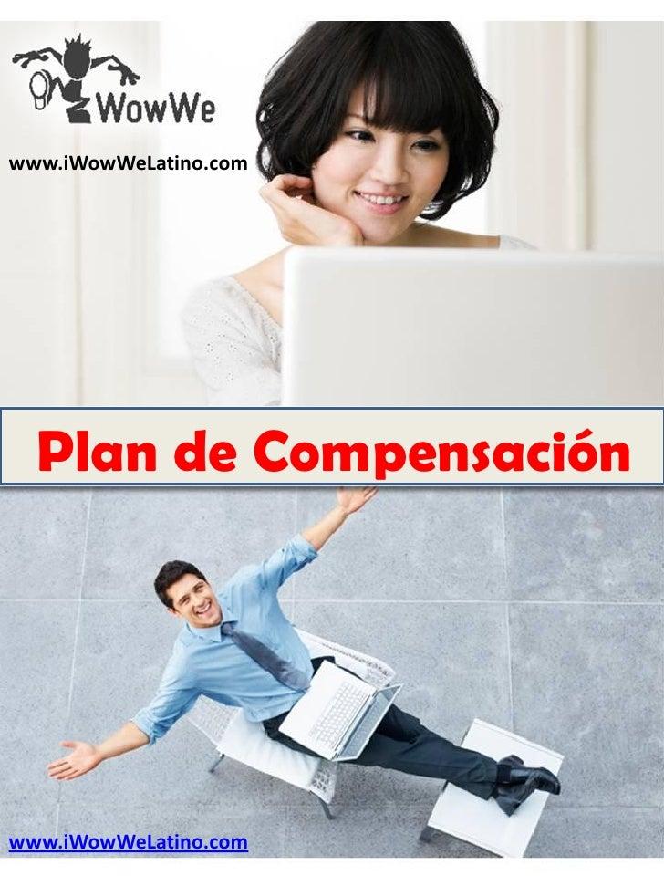 www.iWowWeLatino.com  Plan de Compensaciónwww.iWowWeLatino.com