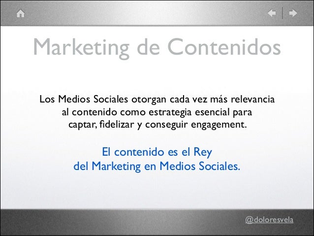 Plan de contenidos Slide 3
