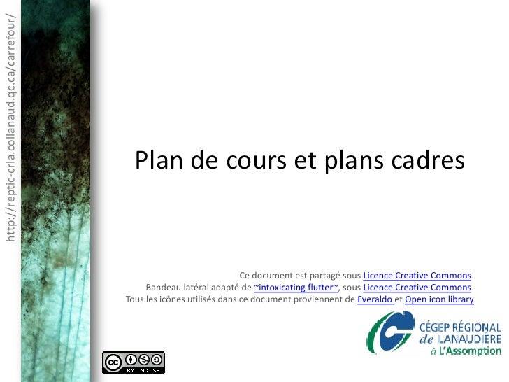http://reptic-crla.collanaud.qc.ca/carrefour/                                                  Plan de cours et plans cadr...