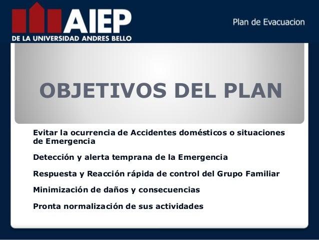 plan de emergencia familia
