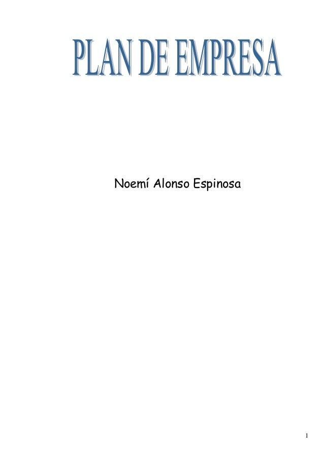 1 Noemí Alonso Espinosa