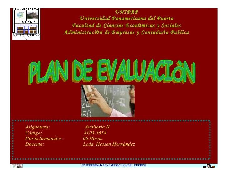 UNIPAP                         Universidad Panamericana del Puerto                      Facultad de Ciencias Económicas y ...