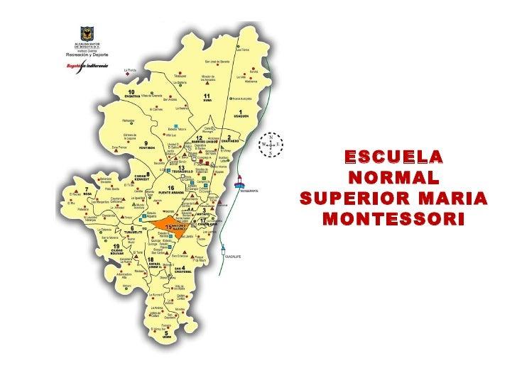 ESCUELA NORMAL SUPERIOR MARIA MONTESSORI