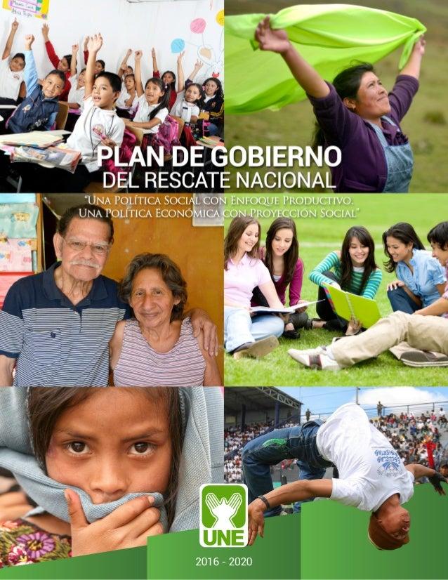 Una política social con orientación productiva; Una política económica con dimensión social, seguridad, justicia y transpa...