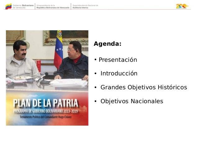 Segundo Plan de la Patria 2013 / 2019 Slide 2