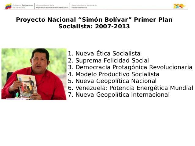 Segundo Plan de la Patria 2013 / 2019 Slide 3