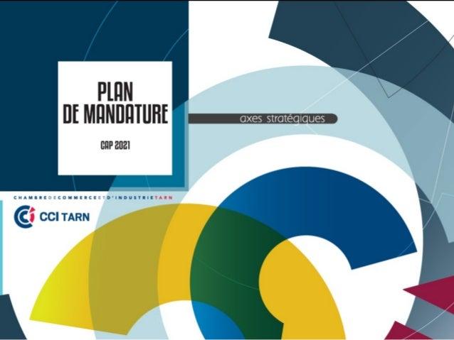 Plan de mandature de 2017 - 2021 de la CCI du Tarn - CAP 2021