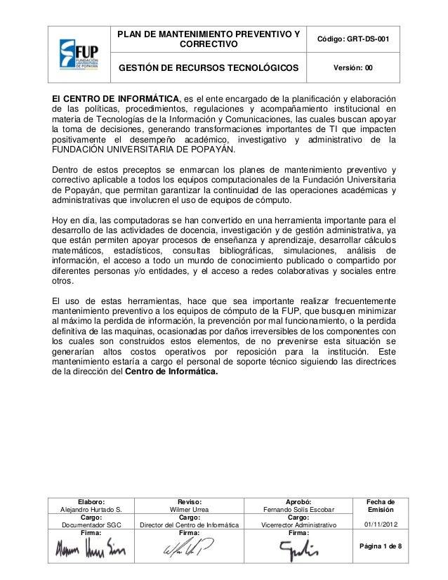 Lujoso Plantilla De Informe De Mantenimiento Imágenes - Colección De ...