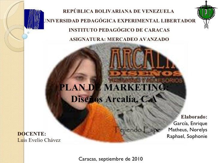 REPÚBLICA BOLIVARIANA DE VENEZUELA  UNIVERSIDAD PEDAGÓGICA EXPERIMENTAL LIBERTADOR INSTITUTO PEDAGÓGICO DE CARACAS ASIGNAT...