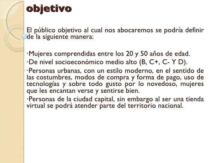 Excepcional Objetivo De Marketing De Moda Patrón - Colección De ...