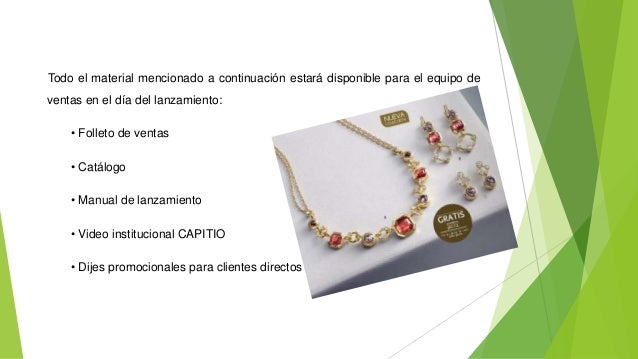 df5b082e471b Plan de marketing de Joyas CAPITIO