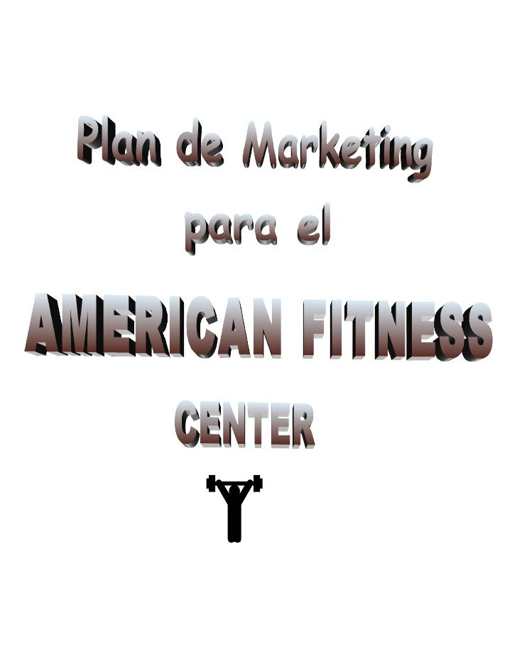 A Sample Gym & Fitness Center Business Plan Template