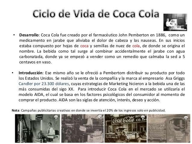 Coca-Cola past experience