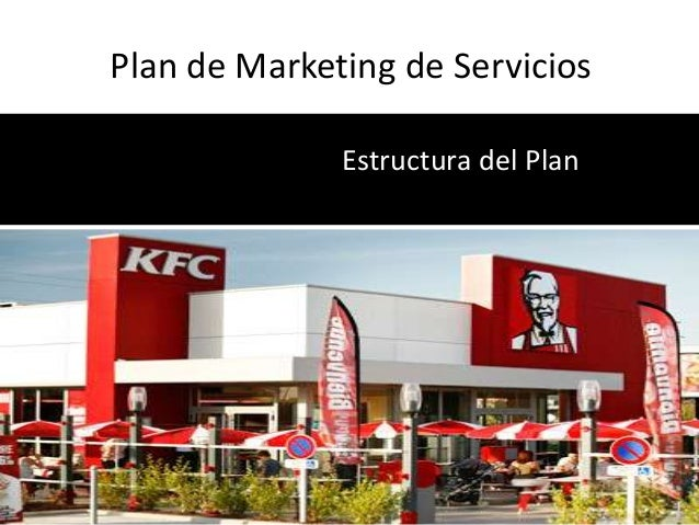 Plan de Marketing de Servicios              Estructura del Plan