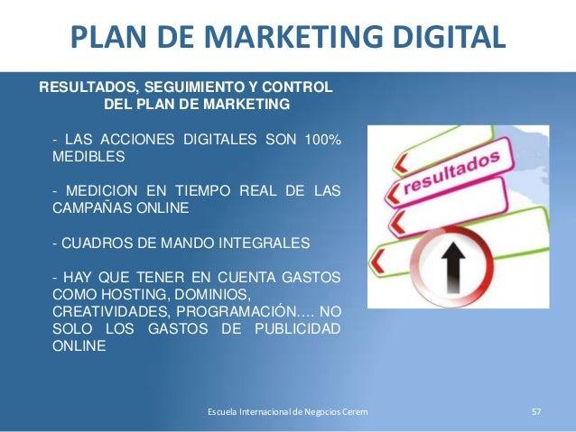 ejemplo de plan de marketing digital de una empresa pdf