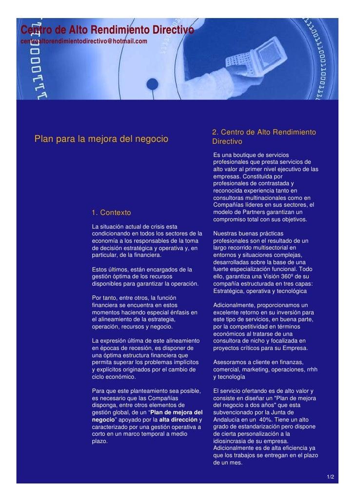 Centro de Alto Rendimiento Directivocentroaltorendimientodirectivo@hotmail.com                                            ...