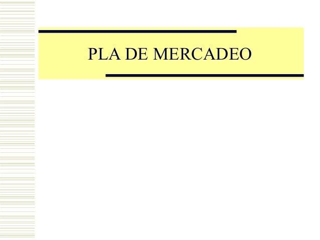 PLA DE MERCADEOCopyright, 1996 © Dale Carnegie & Associates, Inc.