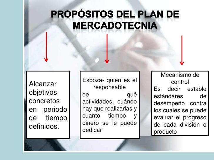 plan de mercadotecnia exposicion