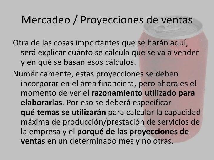 Promoción<br />Definir los medios o instrumentos que se utilizarán para dar a conocer la empresa y el producto y/o servici...