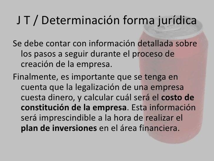 JURÍDICO TRIBUTARIO<br />También se deben analizar losaspectos fiscalesde la empresa, es decir, los impuestosnacionales...