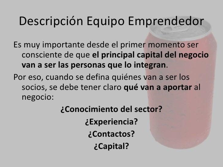 DEFINICION DEL NEGOCIO<br />¿Qué actividad se quiere realizar?.<br />¿Qué oportunidad de negocio se ha detectado? ¿Qué nec...