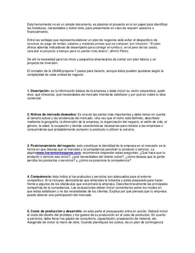 Esta herramienta no es un simple documento, es plasmar el proyecto en sí en papel para identificar las fortalezas, necesid...