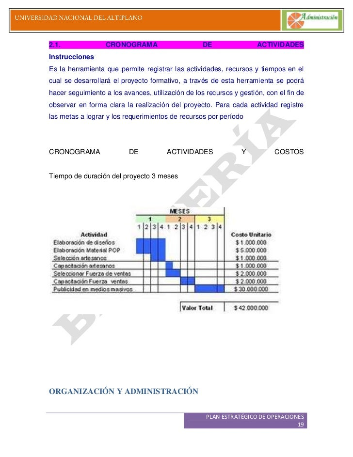 f5d7fa65d0b6 PLAN OPERATIVO PLAN ESTRATÉGICO DE OPERACIONES 18  19.