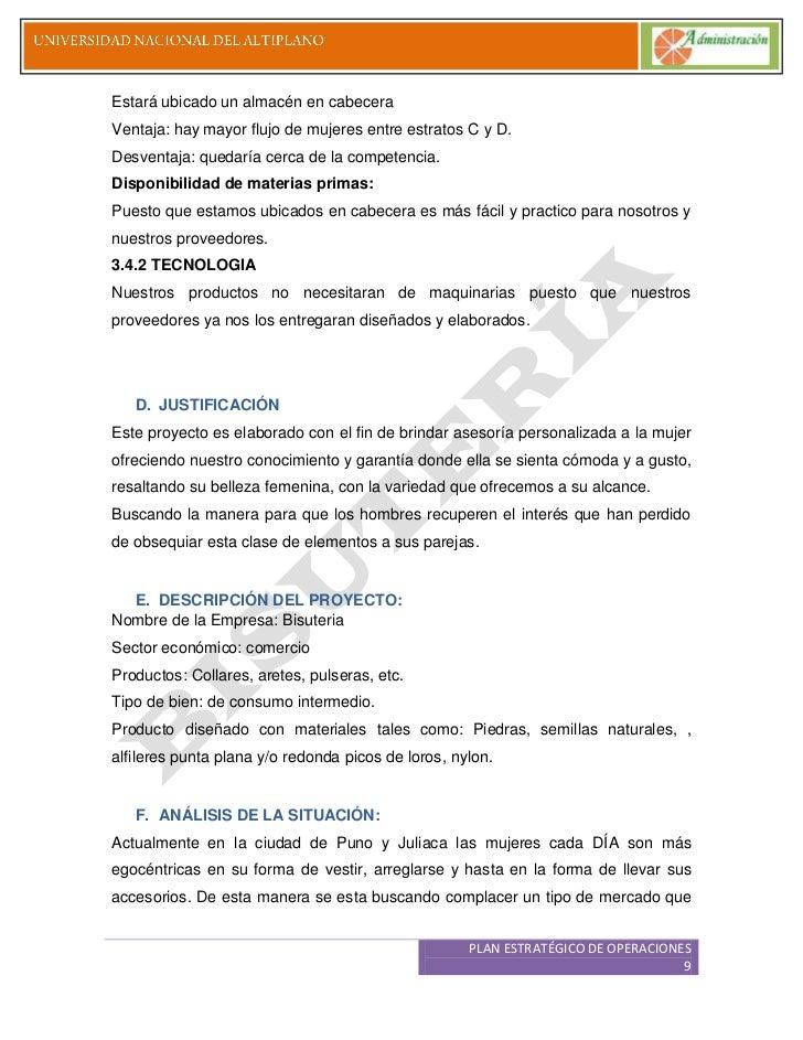 fad90fbda89d Plan de negocios bisuteria ry