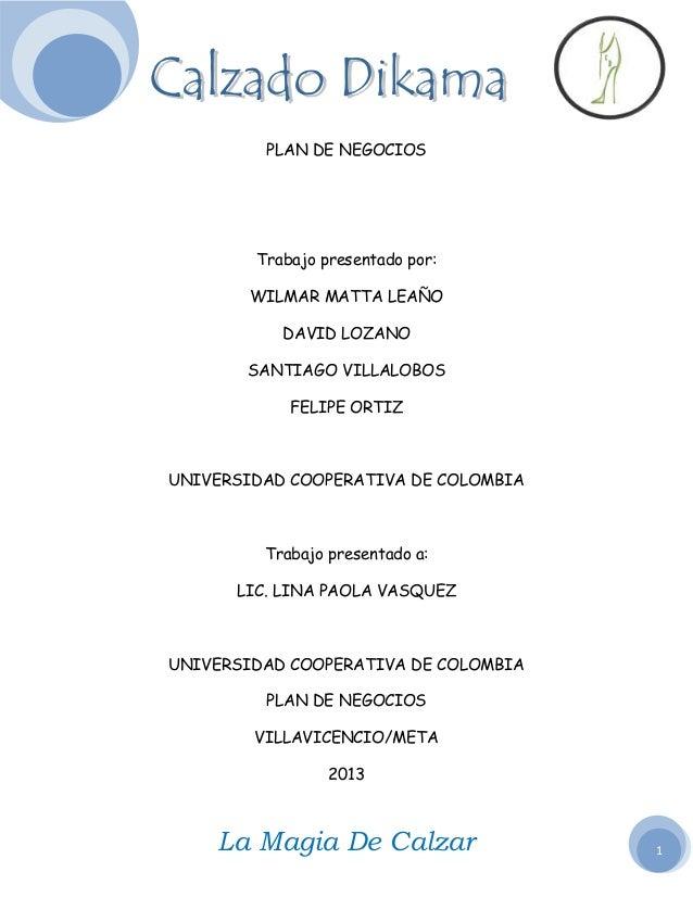 plan de negocios de una empresa pdf