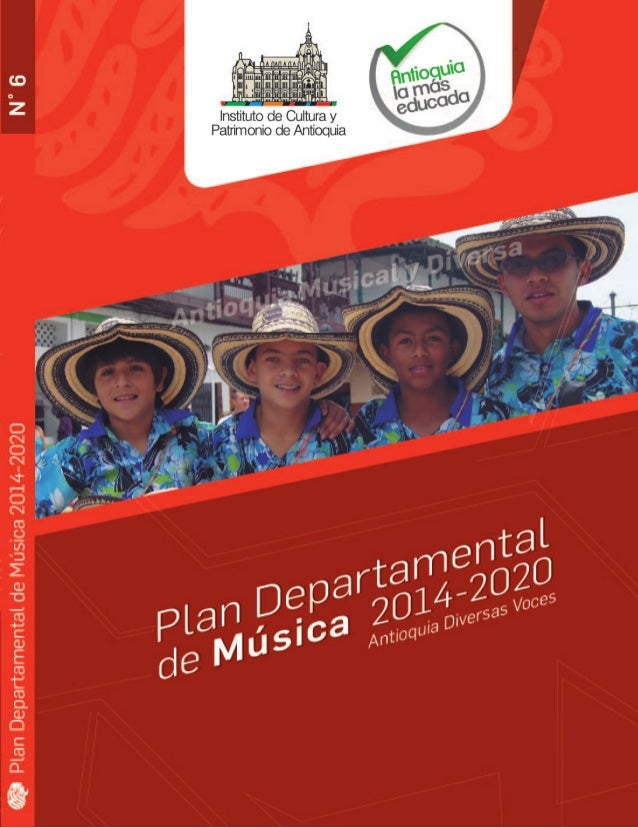 1 Plan Departamental de Música 2014-2020