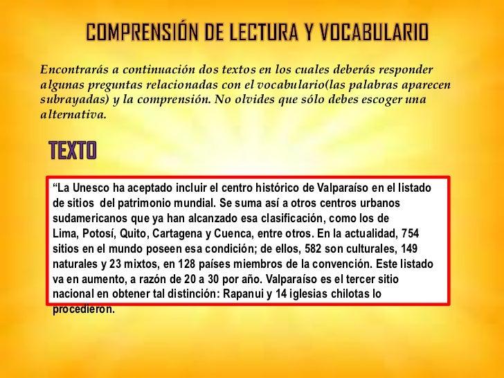 La importancia de incluir a Valparaíso en el listado de sitios del patrimoniomundial consiste en:       A. Beneficiar a la...