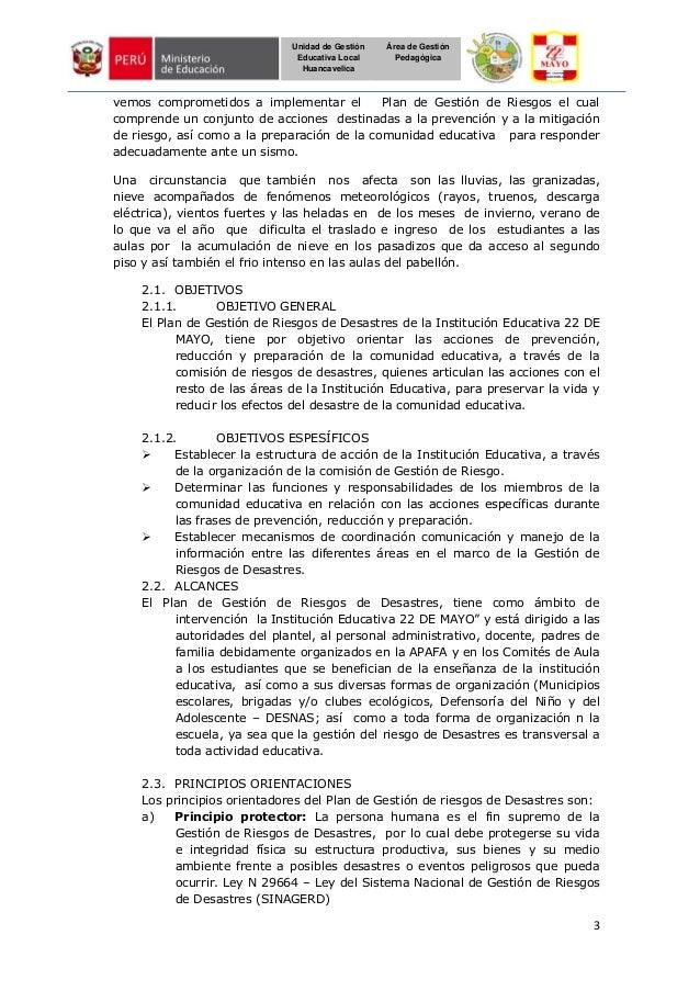 3 Unidad de Gestión Educativa Local Huancavelica Área de Gestión Pedagógica vemos comprometidos a implementar el Plan de G...