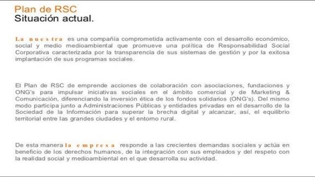 Plan de rsc