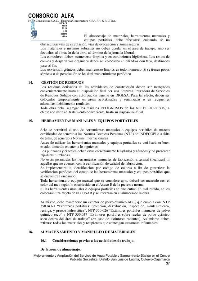3fd711d4da0 Plan de seguridad y salud ocupacional