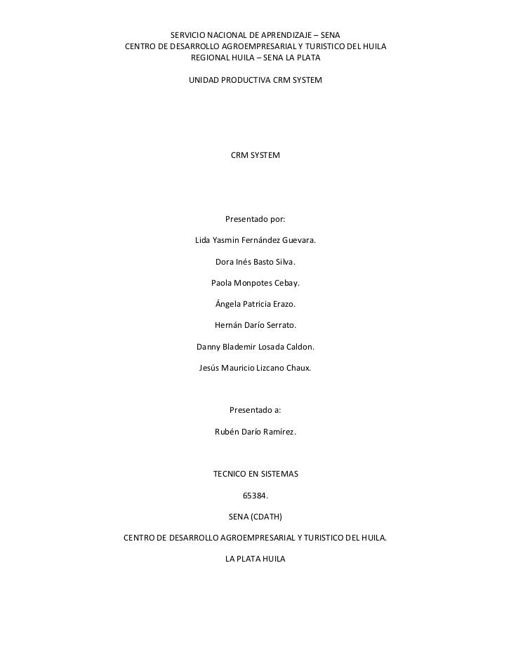 CRM SYSTEM<br />Presentado por:<br />Lida Yasmin Fernández Guevara.<br />Dora Inés Basto Silva.<br />Paola Monpotes Cebay....