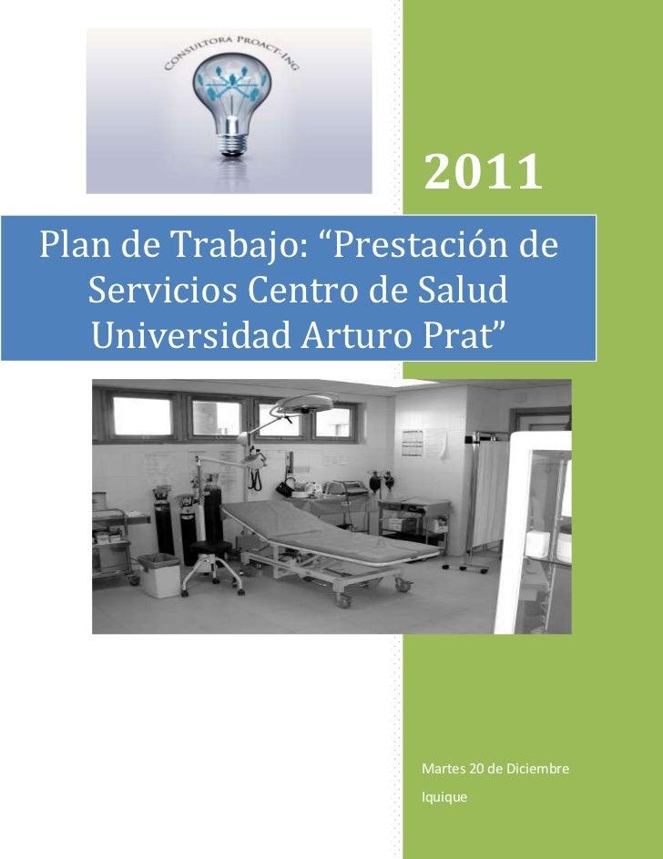 Plan de trabajo centro de salud consultora proact ing 2 - Centro de salud aravaca ...