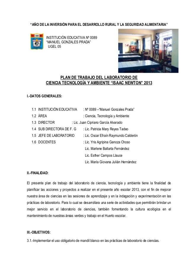 """""""AÑO DE LA INVERSIÓN PARA EL DESARROLLO RURAL Y LA SEGURIDAD ALIMENTARIA""""INSTITUCIÓN EDUCATIVA Nº 0089""""MANUEL GONZALES PRA..."""