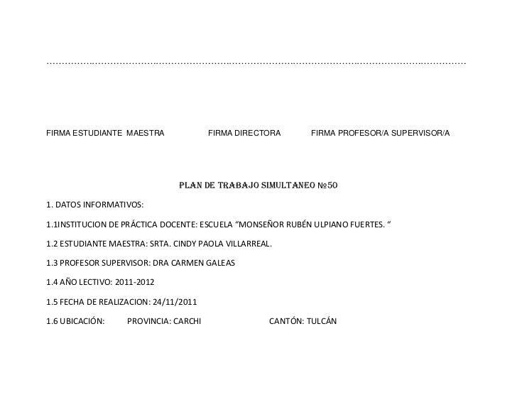 PARROQUIA: JULIO ANDRADE            COMUNIDAD: LA COFRADÍA2. DATOS CURRICULARES:2.1 AREA: Entorno Natural y Social y Estud...
