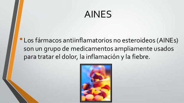Aines, Corticoides y plan de tratamiento de artritis