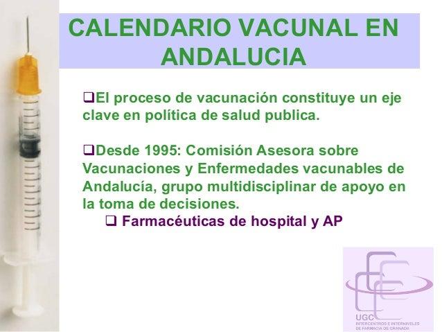 Calendario Vacunal Andalucia.Plan De Vacunacion De Andalucia 2013