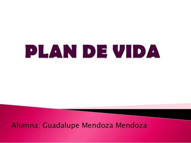 Alumna: Guadalupe Mendoza Mendoza